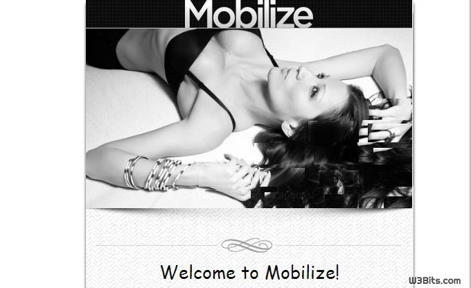 Mobilize WordPress Theme