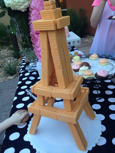 Eiffel Tower cookie, cooking with the style sisters
