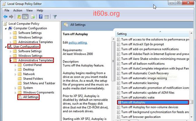 Cách vô hiệu tính năng Autoplay trên hệ điều hành Windows 5