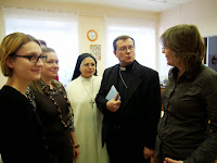Архиепископ Павел Пецци у нас в ностях  www.helfenleben.com
