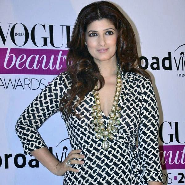 Twinkle Khanna looks radiant at Vogue Beauty Awards 2014, held at Hotel Taj Lands End in Mumbai, on July 22, 2014.(Pic: Viral Bhayani)