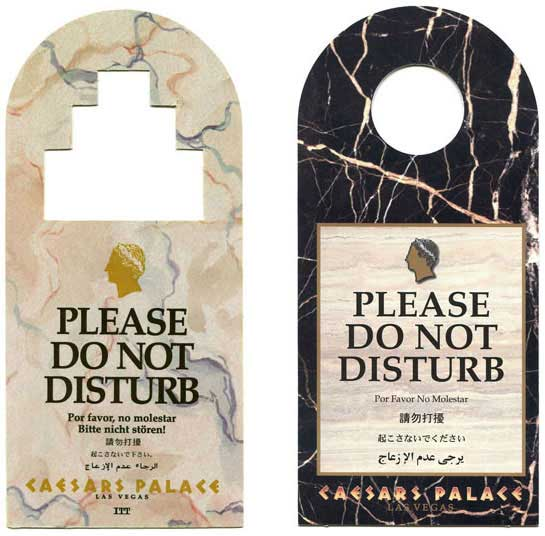 do not disturb signs nevada casino collection