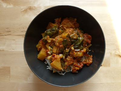 Kohlrabi Curry