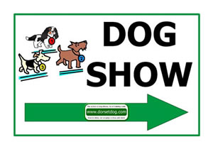 Dorset dog show right arrow to print off