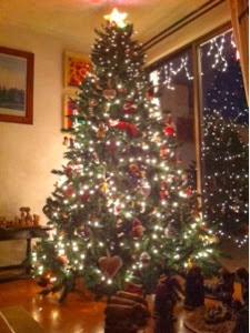 La casa de la laguna rboles de navidad - Arbol de navidad en casa ...