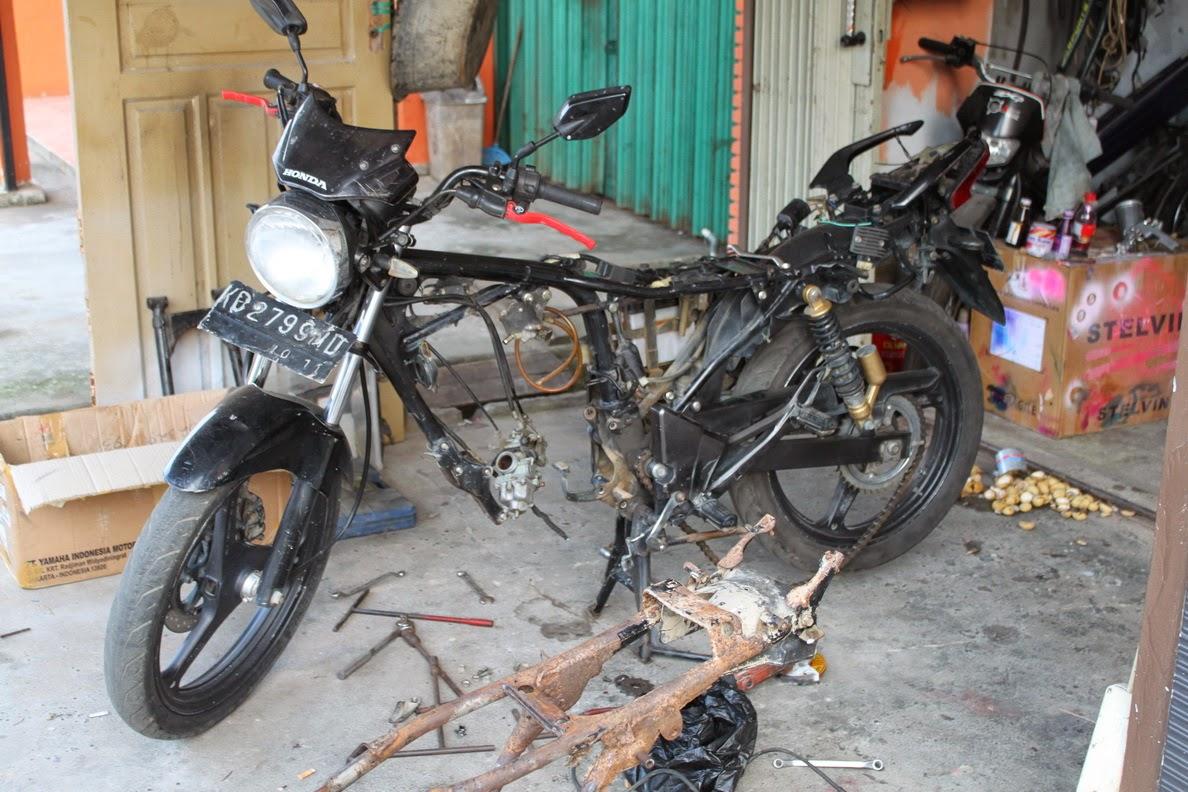 Honda Tiger Modifikasi Cb