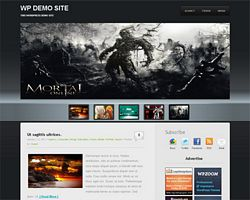 Wp3D Free Premium Magazine WordPress Theme