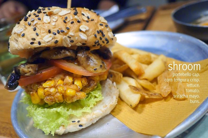 shroom Buns. Burger Bar