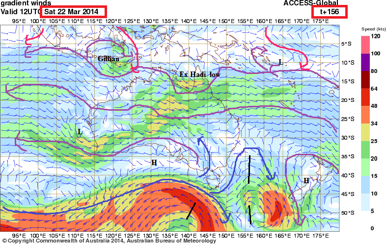 22nd march 2014monsoon trough australia