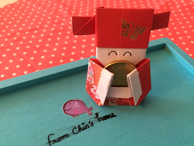 From Chins Home Origami Fortune God