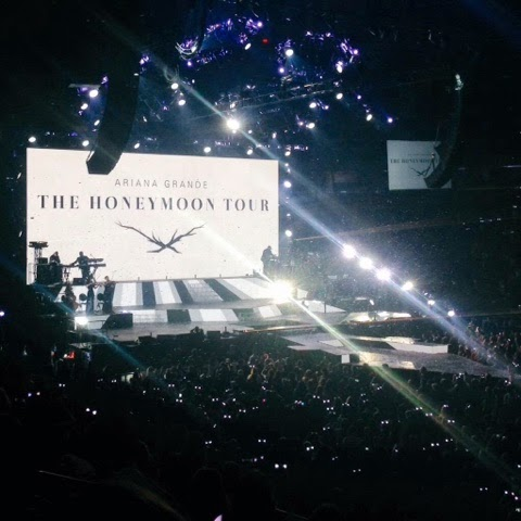 Ariana Grande. Honeymoon Tour. March 21st 2015. Madison Square Garden.