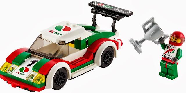 Chiếc xe đua đẹp mắt trong bộ Lego City 60053 Race Car