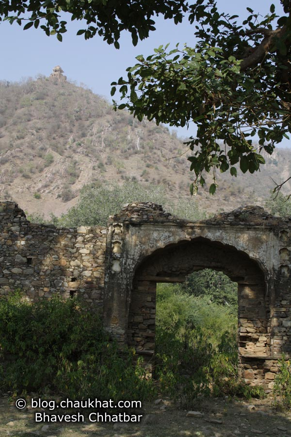 Bhangarh - Ruined Wall Gate