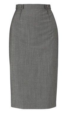 Hobbs Grey Pencil Skirt