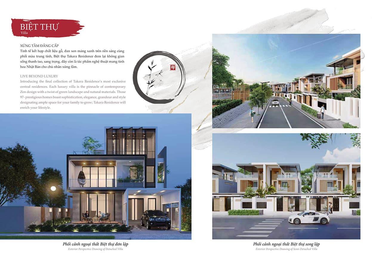 Dự án Takara Residence mang đến nhiều  giá trị nổi bật