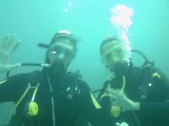 Bajo el mar en Calpe, Alicante