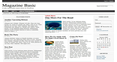 Magazine Basic Theme