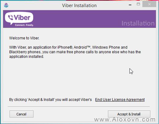 Tải, cài đặt viber cho máy tính - hd03