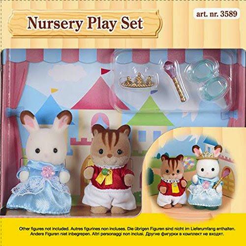 Bộ đồ chơi diễn kịch Sylvanian Families 3589 được làm từ chất liệu an toàn