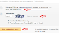 cara mengetahui link yang rusak