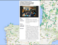 Localización en el mapa de la actividad de Gemosclera