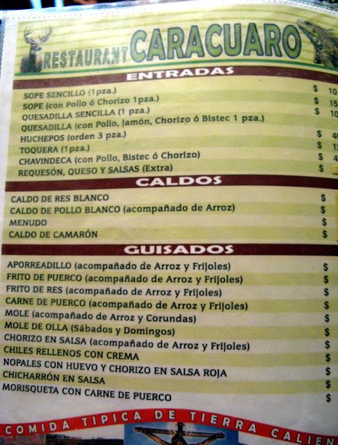 Restaurante Caracuaro, Morelia IMG_3027