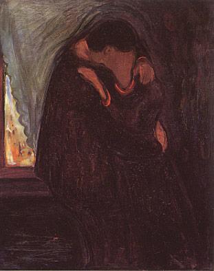 il bacio - Munch