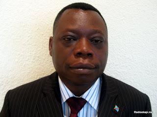 Ruffin Bo-Elongo, responsable au Fonds social de la République démocratique du Congo, le 12 juin 2012. Ph. Innocent Olenga