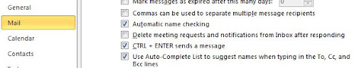Setting not to delete meeting requests from Outlook mailbox