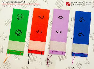 novetats Llibres Artesans Sant Jordi 2014