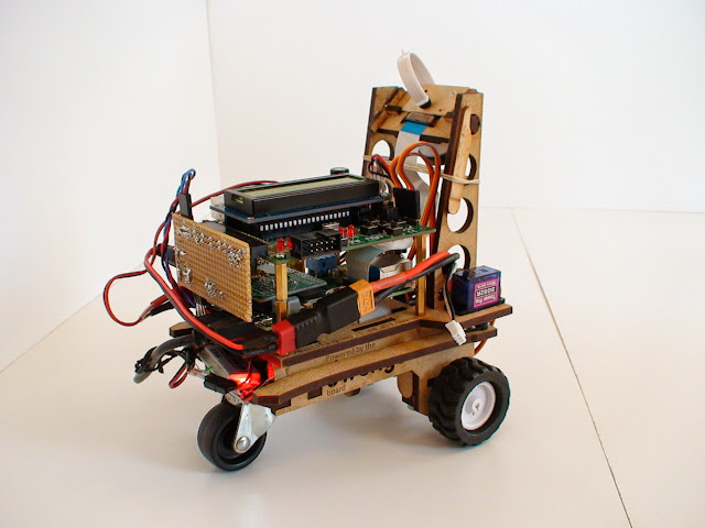 A Robot for RoboCup Junior with image processing - with code