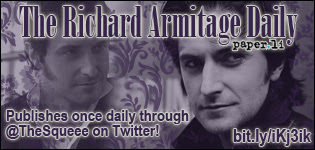 The Richard Armitage Daily publishes daily on @TheSqueee