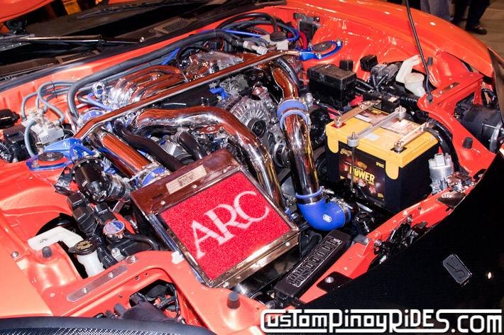 VEILSIDE FORTUNE MAZDA RX-7 TOKYO DRIFT JSK Manila Auto Salon Custom Pinoy Rides Philip Aragones pic13