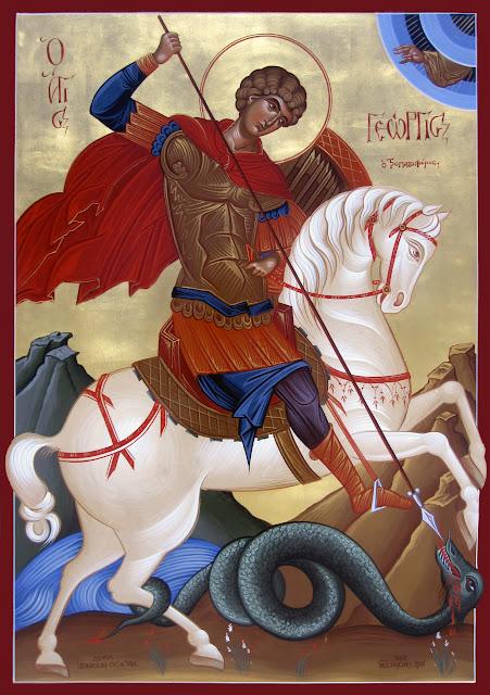 Γεώργιος ο Τροπαιοφόρος, St. George the martyr, Георгия мученика