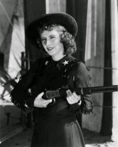 Barbara Stanwyck In Annie Oakley 1935