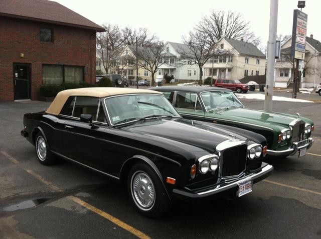 Bentley Spotting Springfield Massachusetts Usa