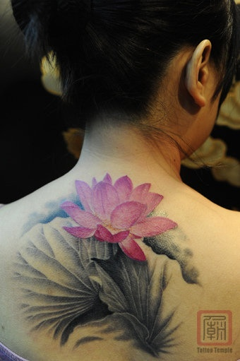 lotus tattoo designs for women