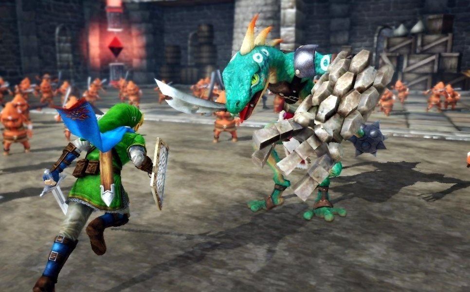 Hyrule Warriors New Wii U Zelda game Screenshot
