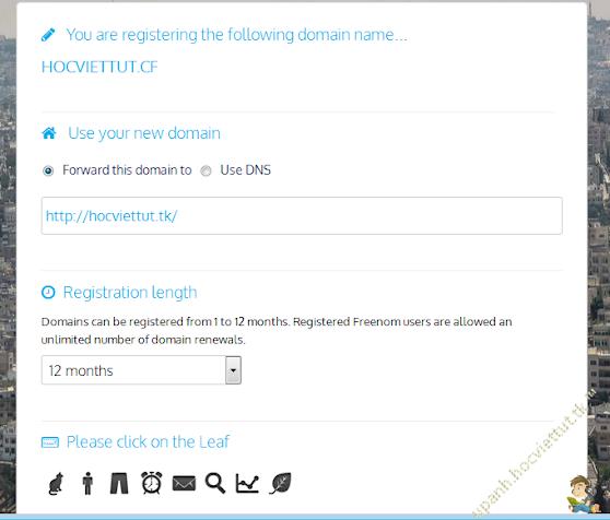 [Hướng dẫn] Tạo tên miền miễn phí cấp 1 với Freenom 545046f5e4a15