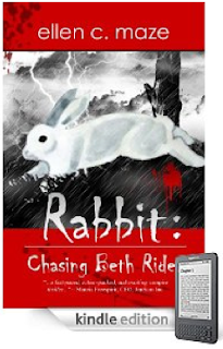 "84 Five-Star Reviews for Our EBook of the Day, a Unique Vampire Novel About a Vampire Novelist!  Read a free sample of ""Rabbit: Chasing Beth Rider"" without leaving your browser!"