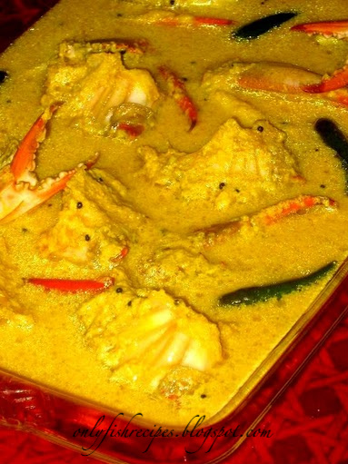 crab in mustard and lemon juice