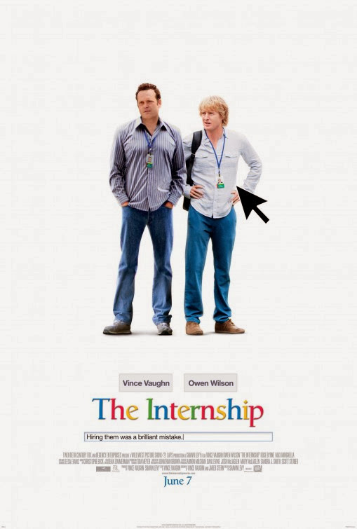 Poster Of English Movie The Internship (2013) Free Download Full New Hollywood Movie Watch Online At Alldownloads4u.Com