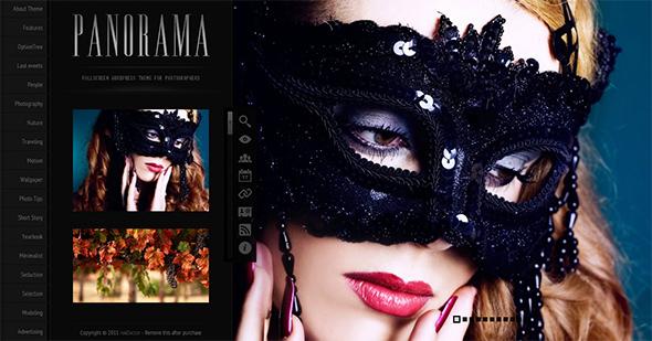 Panorama Fullscreen Portfolio Theme