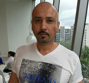 Edika Yusof Kekal Botak Selagi Penyakit Isteri Belum Pulih