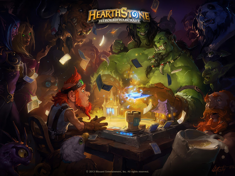 Hearthstone: Heroes of Warcraft- карточная игра от Blizzard