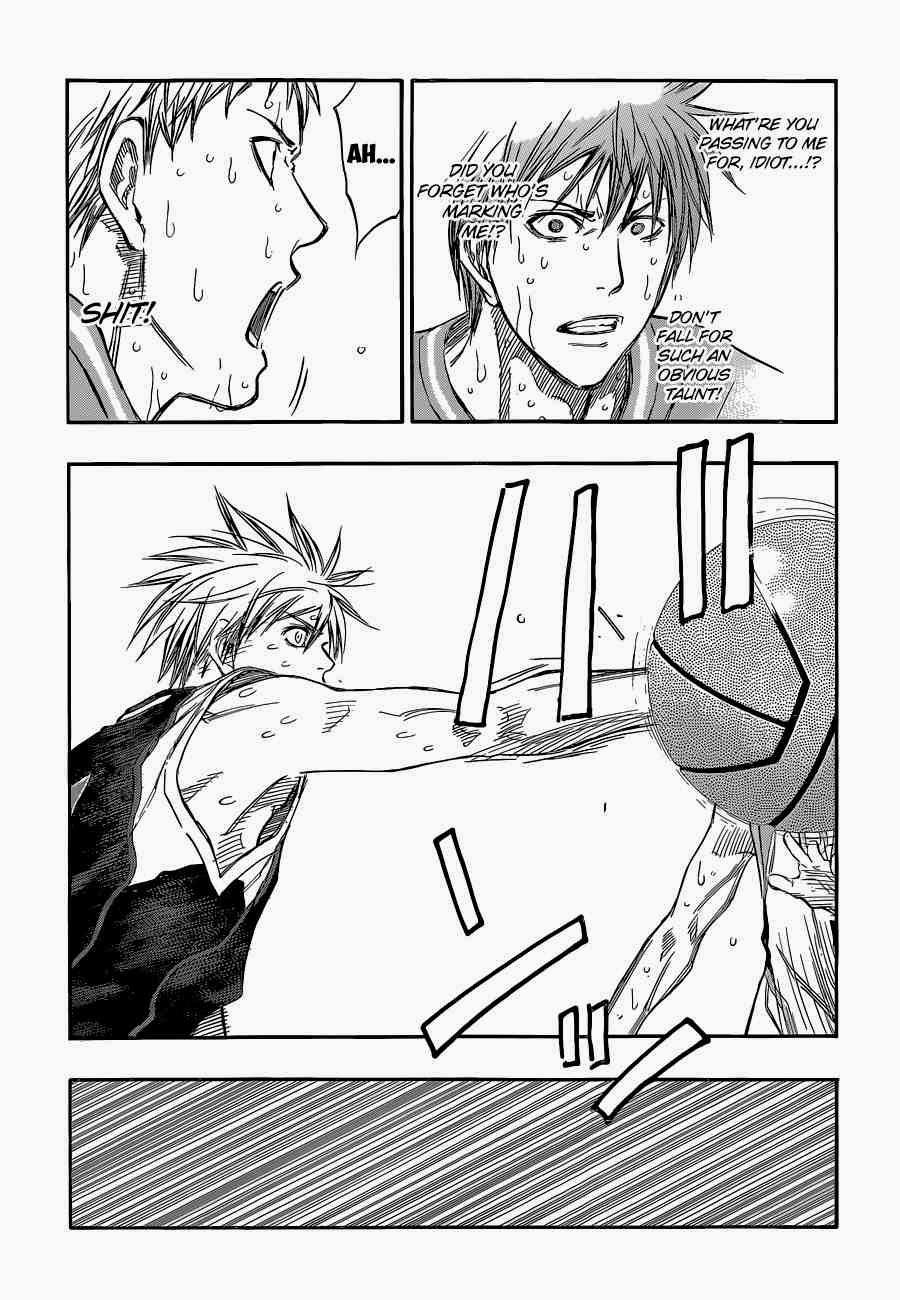 Kuroko no Basket Manga Chapter 254 - Image 20