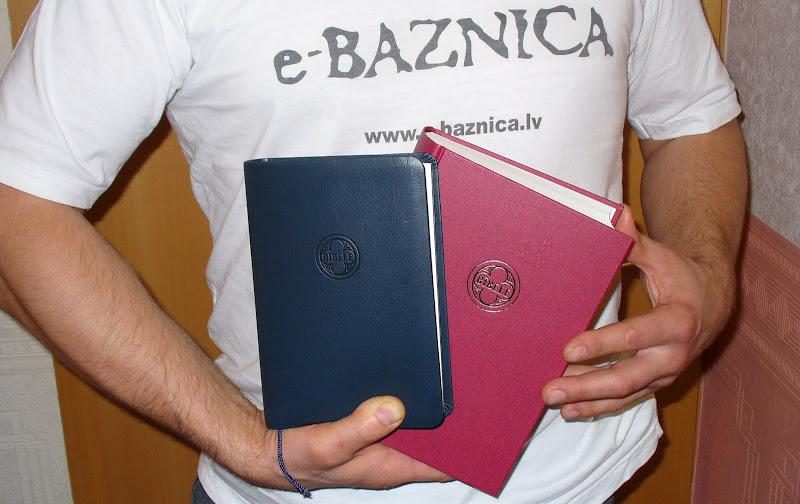 Jaunais Bībeles tulkojums e-ntuziastu rokās