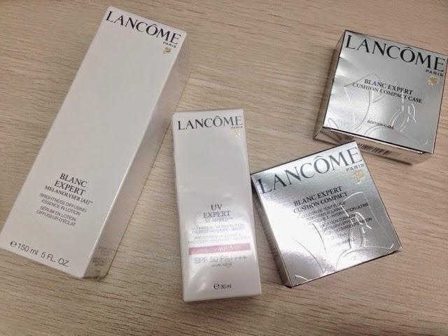 【新品速遞】- Lancome BLANC EXPERT美白新世代。為您送上水盈光芒之源鑰匙 - ...