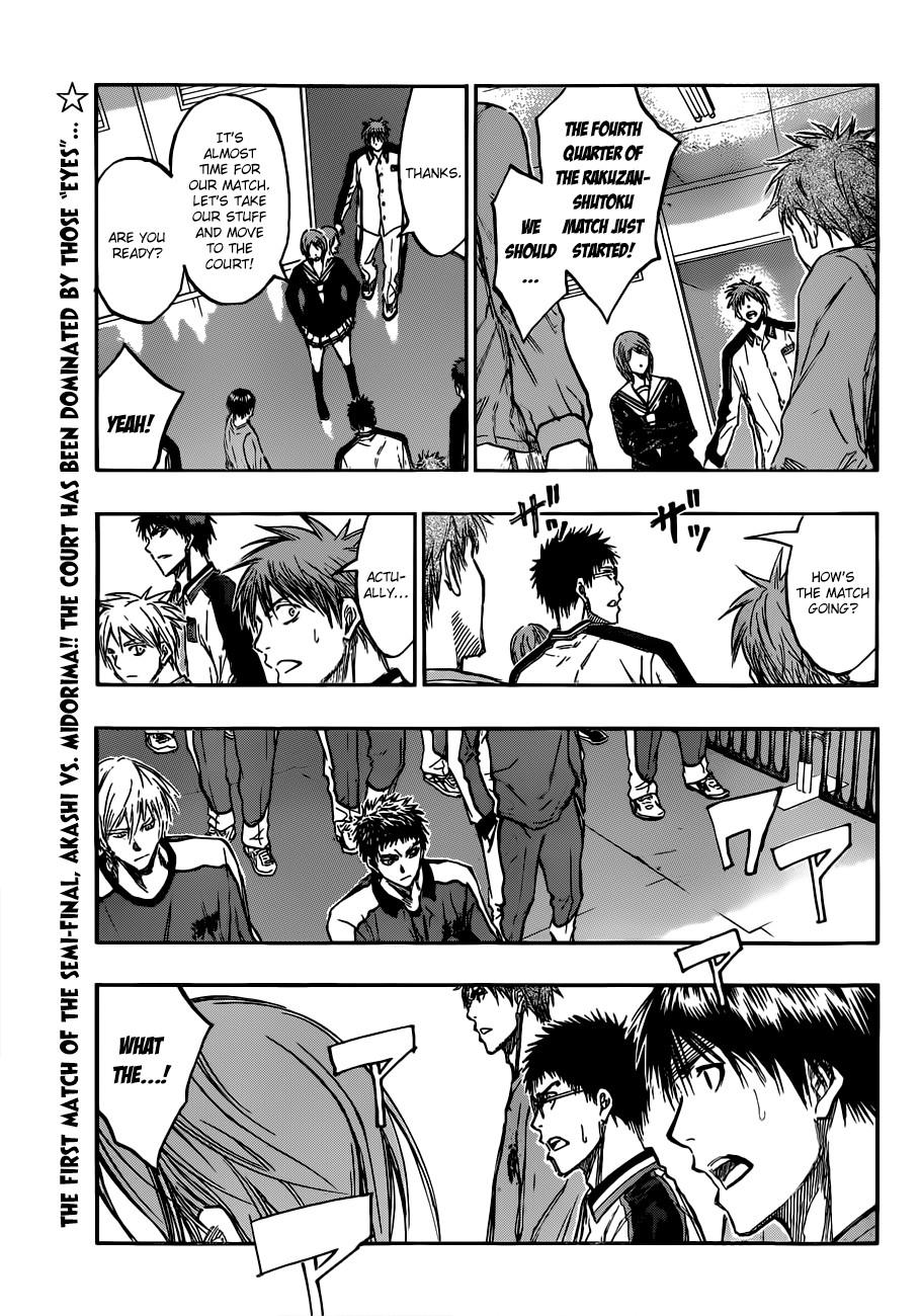 Kuroko no Basket Manga Chapter 179 - Image 01