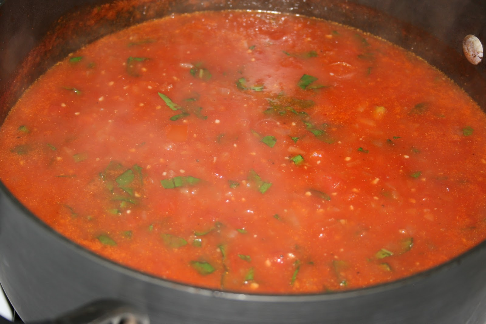 It really IS that easy to make...: Recipe #98: Tomato Basil Soup